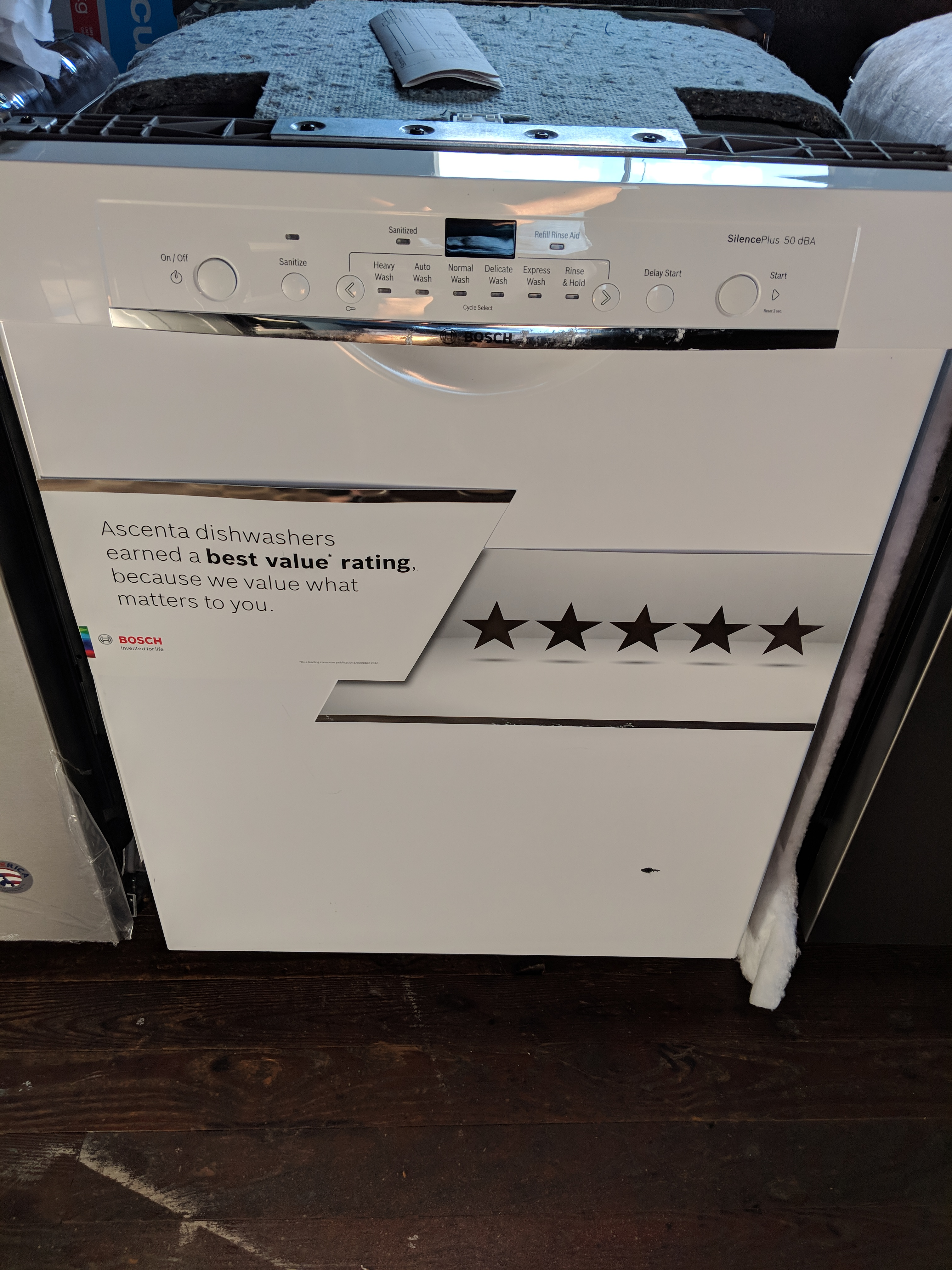 Sold New Bosch 100 Series 24 Front Control Tall Tub