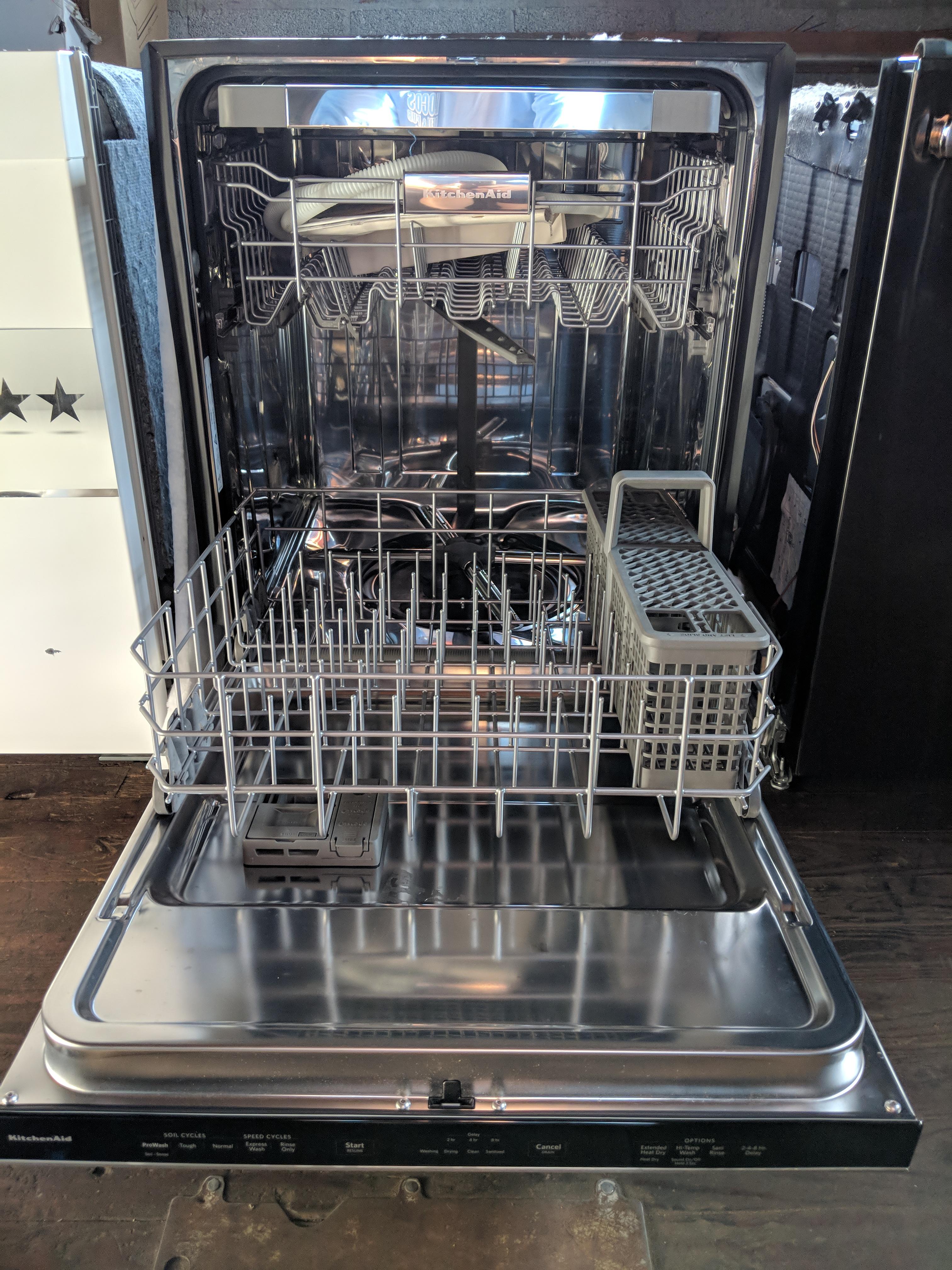 Sold New Kitchenaid 24 In Printshield Stainless Steel