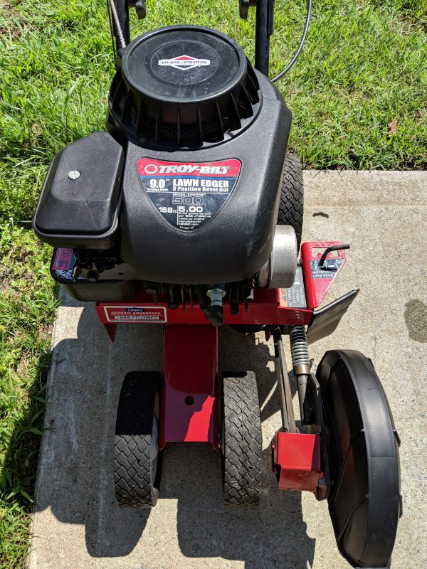 Used Troy-Bilt 9 In  Gas Lawn Edger/Trencher | Nothing's