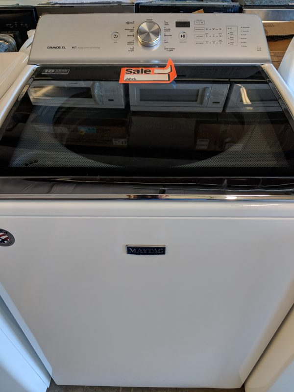 New Maytag 5 3 Cu Ft High Efficiency Top Load Washer