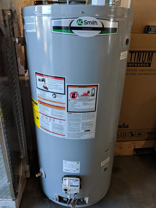 Sold New A O Smith Signature 74 Gallon Tall 6 Year