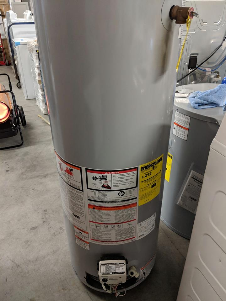 New Envirotemp 40 Gallon Tall 3 Year 34000 Btu Natural Gas