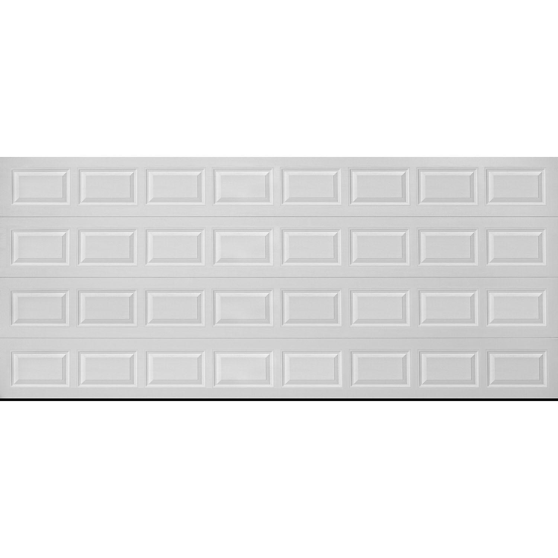 New Stratford 1000 Series White Panel Garage Door 16 X 7