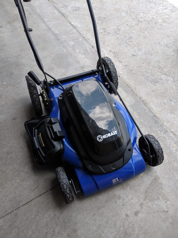 New Kobalt 13 Amp 21 In Corded Electric Lawn Mower