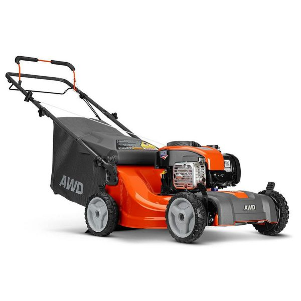 Like New Husqvarna Lc221a 163 Cc 21 In Self Propelled Gas Lawn Mower No Bag